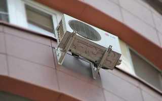 Особенности монтажа кондиционера на вентилируемый фасад