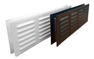 Разновидности решеток дверных вентиляционных, критерии выбора, расчет и особенности монтажа