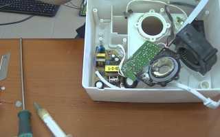 Как отремонтировать увлажнитель воздуха своими руками без специальных инструментов