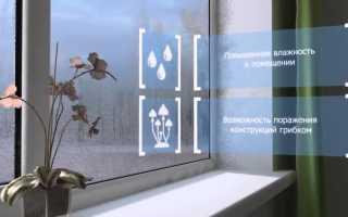 Способы вентиляции в комнате с пластиковыми окнами — виды систем для организации воздухообмена