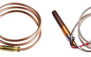 О термопарах газовых котлов для домашних мастеров — характеристики, применение, особенности