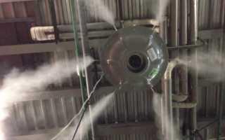 Как работает промышленный увлажнитель, какой он бывает и где используется
