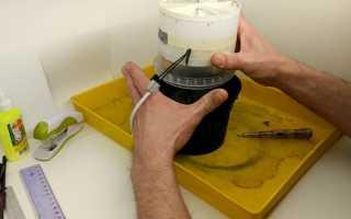 Изготавливаем угольный фильтр для вытяжки из подручных средств своими руками