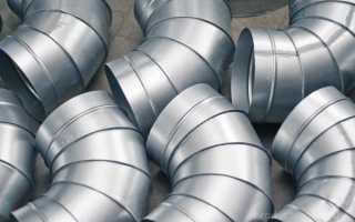 Преимущества и недостатки воздуховодов из оцинкованной стали, правила выбора труб и схема монтажа