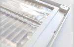 Особенности выбора, установки и техники обслуживания вентиляционных решеток с обратным клапаном