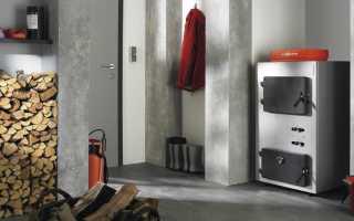 Этапы установки и подключения котла на твердом горючем в загородном доме