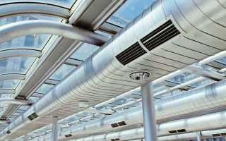 Основные виды систем вентиляции, их проектирование, назначение и эксплуатация