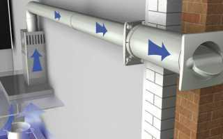 Особенности устройства, установки и обслуживания системы вентиляции в частном доме с выходом в стену