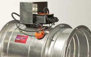 Назначение и виды противопожарных клапанов (огнезащитных) для систем вентиляции, выбор и установка
