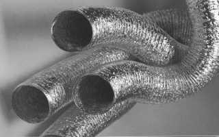 Виды, технические характеристики, критерии выбора и особенности монтажа гибких воздуховодов для вентиляции