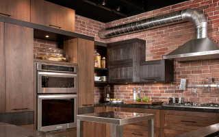 Подготовка и последовательность работ по монтажу гофры для вытяжки (системы вентиляции) на кухне