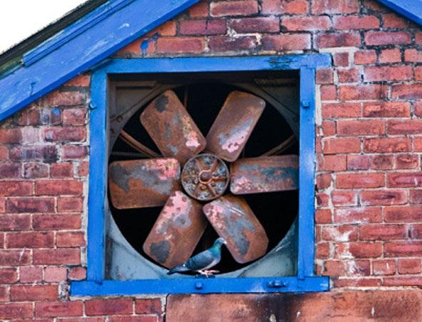 старый вентилятор