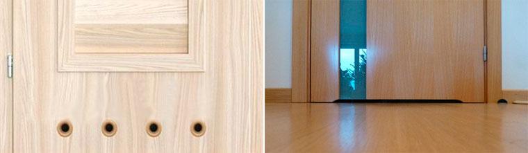 варианты вентиляции двери в ванную