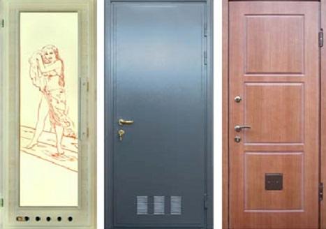 Разные виды дверной вентиляции