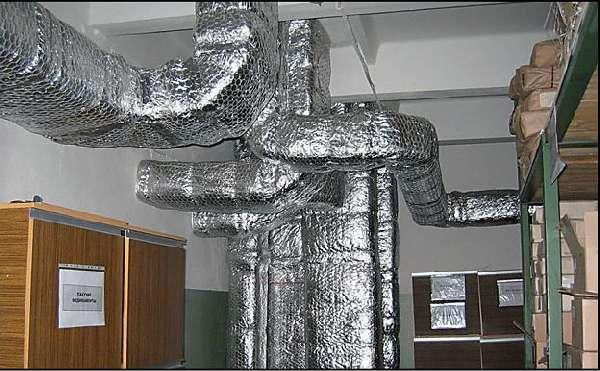 Защита вентиляции от огня