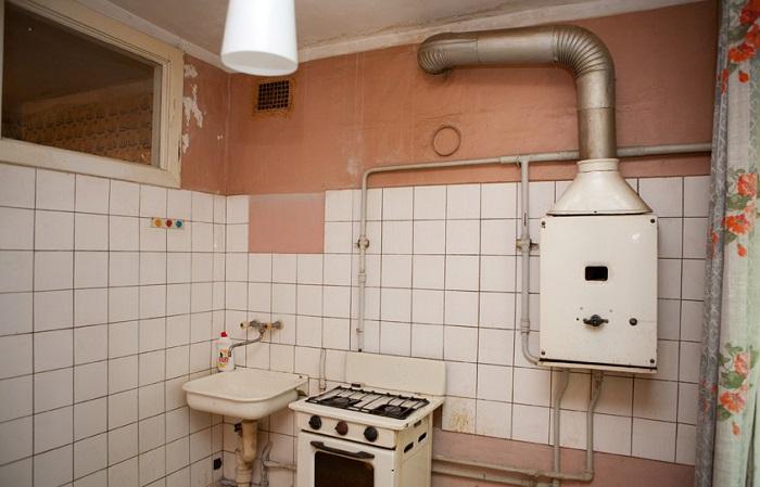кухня хрущевки
