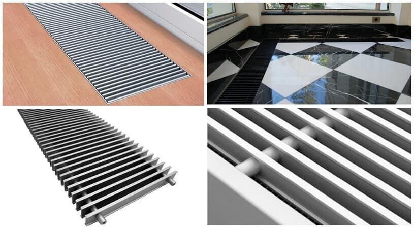 вентиляционные решетки в полу