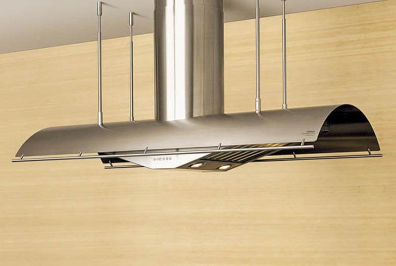 подвесная кухонная вытяжка
