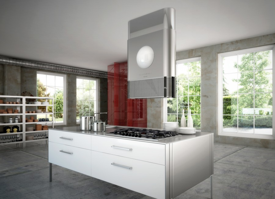 дизайнерская кухонная вытяжка