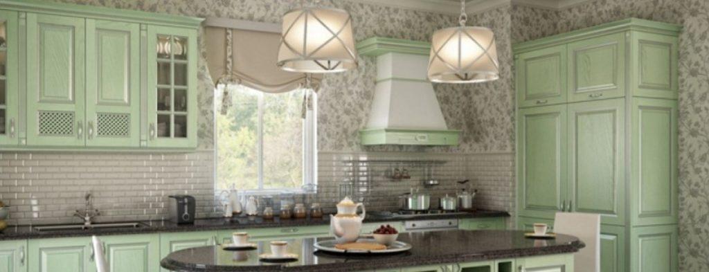 вытяжка в дизайне кухни