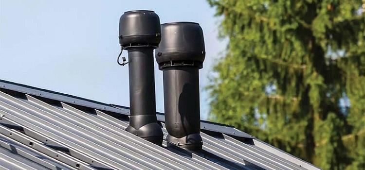 вентиляционные трубы на крыше
