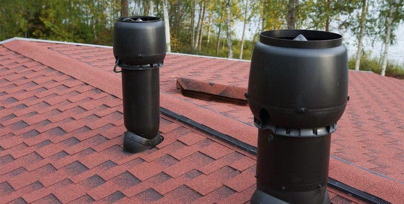 вытяжки на крыше