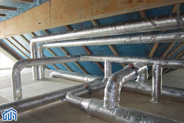 система принудительной вентиляции каркасного дома