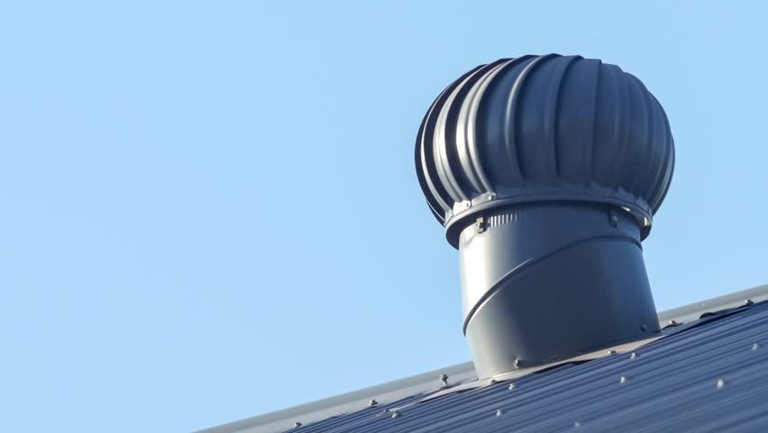 вентилятор на крыше