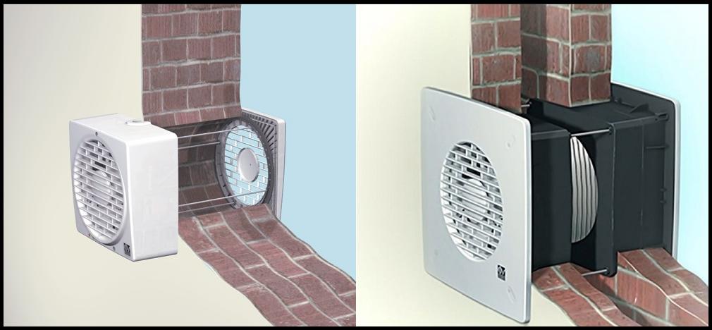 вентиляция через стену