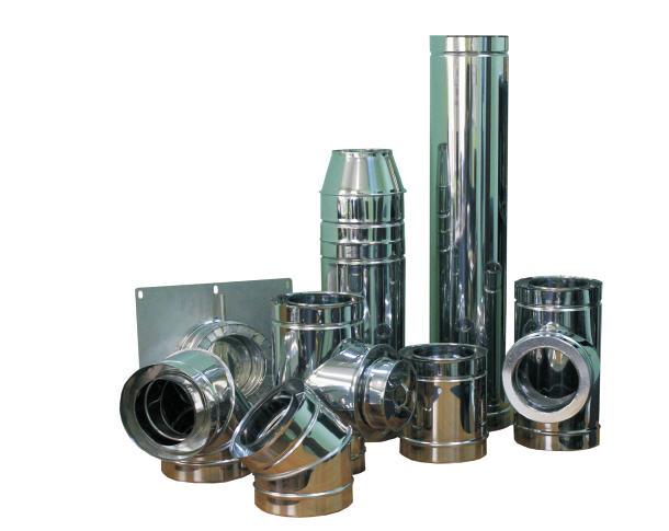разные виды воздуховодов из нержавеющей стали