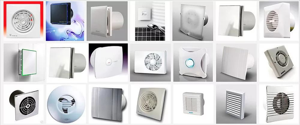 Разнообразные вентиляторы