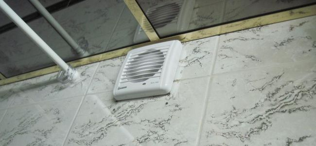 вентиляция в ванной