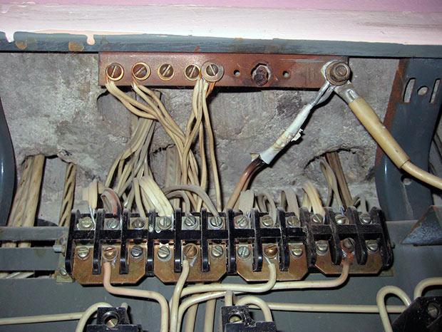 подключение проводки