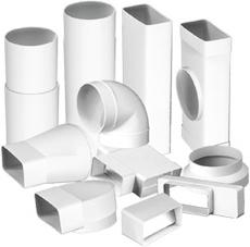 элементы вентиляции из пластика