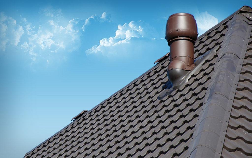 вентиляционный выход на крышу