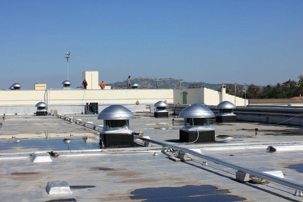 система вентиляции на крыше