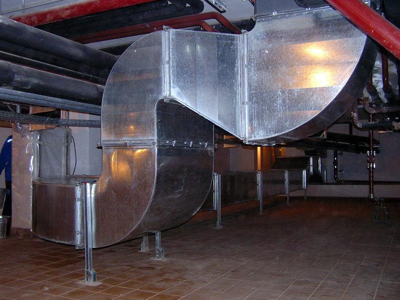 промышленная труба вентиляции