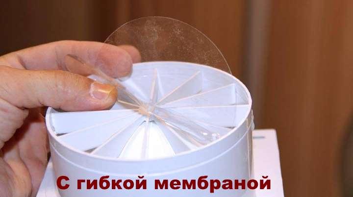 клапан с гибкой мембраной