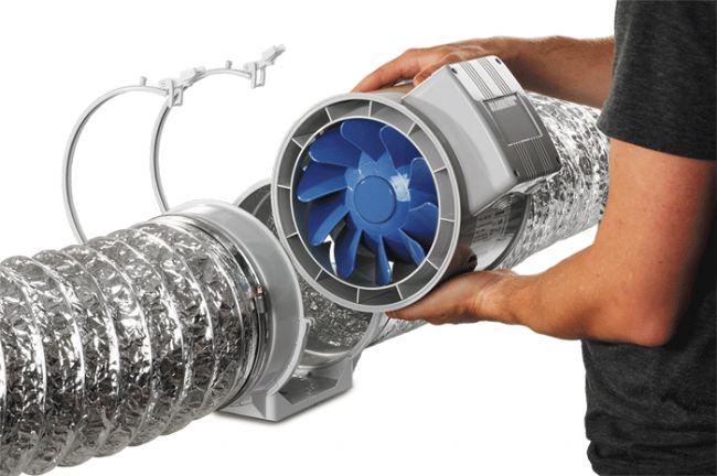 монтаж канальной вентиляции