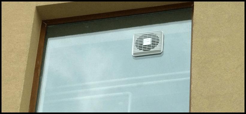 оконный вентилятор