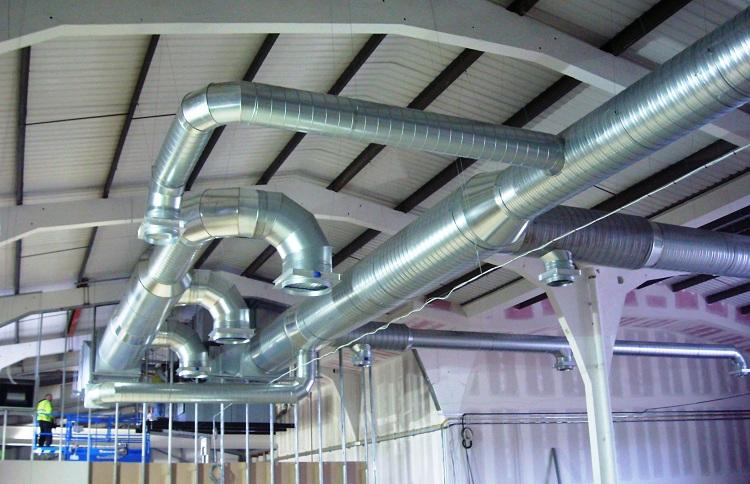 система вентиляции цеха