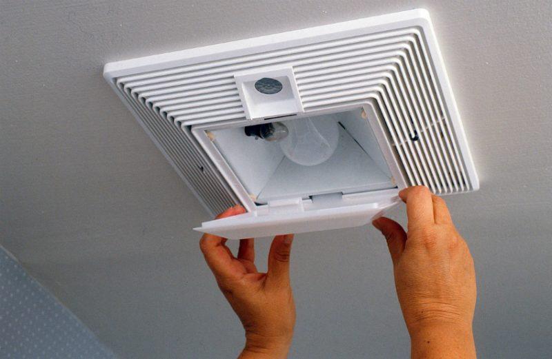 Вентилятор для вытяжки с подстветкой