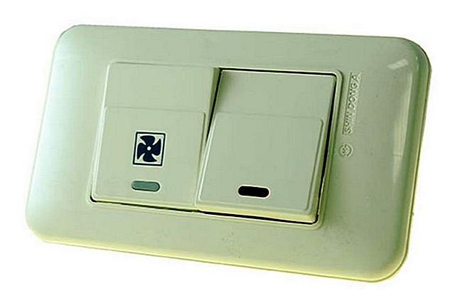 выключатель для вытяжки и света