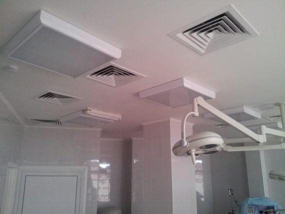 приточная вентиляция в больнице