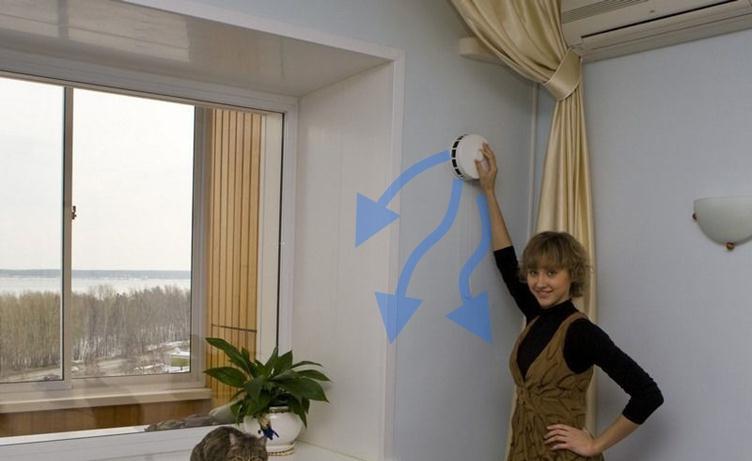 система приточной вентиляции квартиры