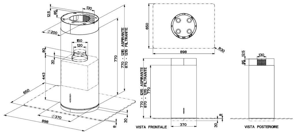 Схема Faber FLOW IX ISOLA 37