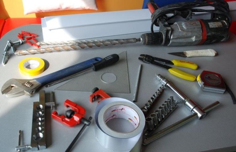 инструменты для монтажа вентиляции
