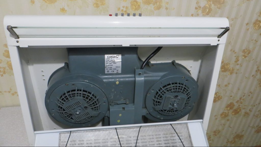 открытая кухонная вентиляция