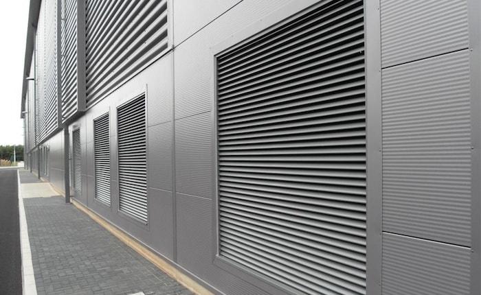 фасадная вентиляция из металла