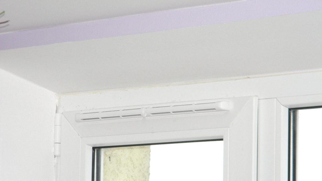 вентиляция в металлопластиковом окне